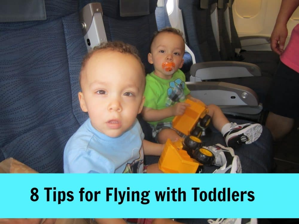 8 Tips for Flying with Toddlers