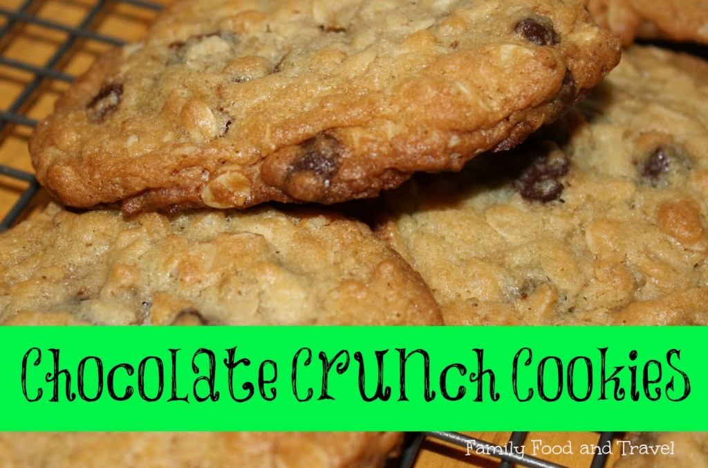 Our Favorite Cookies:  Chocolate Crunch Cookies