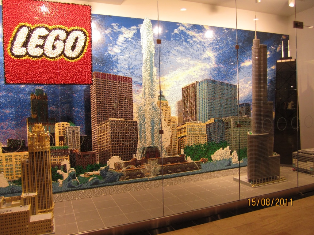 Chicago Lego Skyline