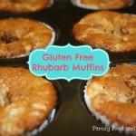 Gluten Free Rhubarb Muffins