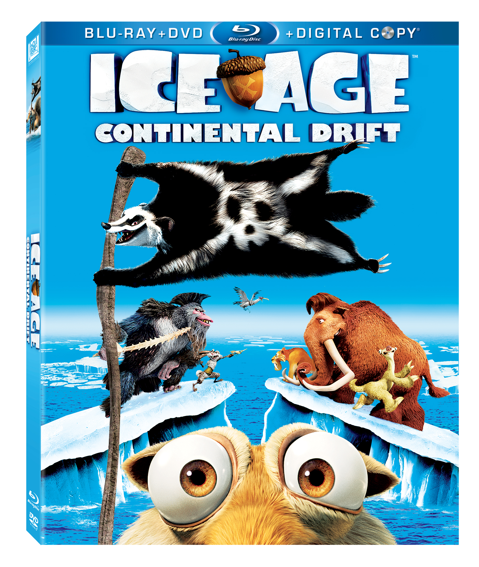 Ice Age 4: Continental Drift Blu Ray Giveaway
