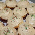 Buttermilk Cupcakes with Brown Sugar Icing