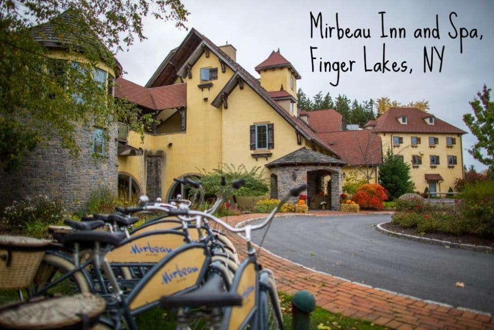 Mirbeau Inn and Spa, Finger Lakes Region, NY