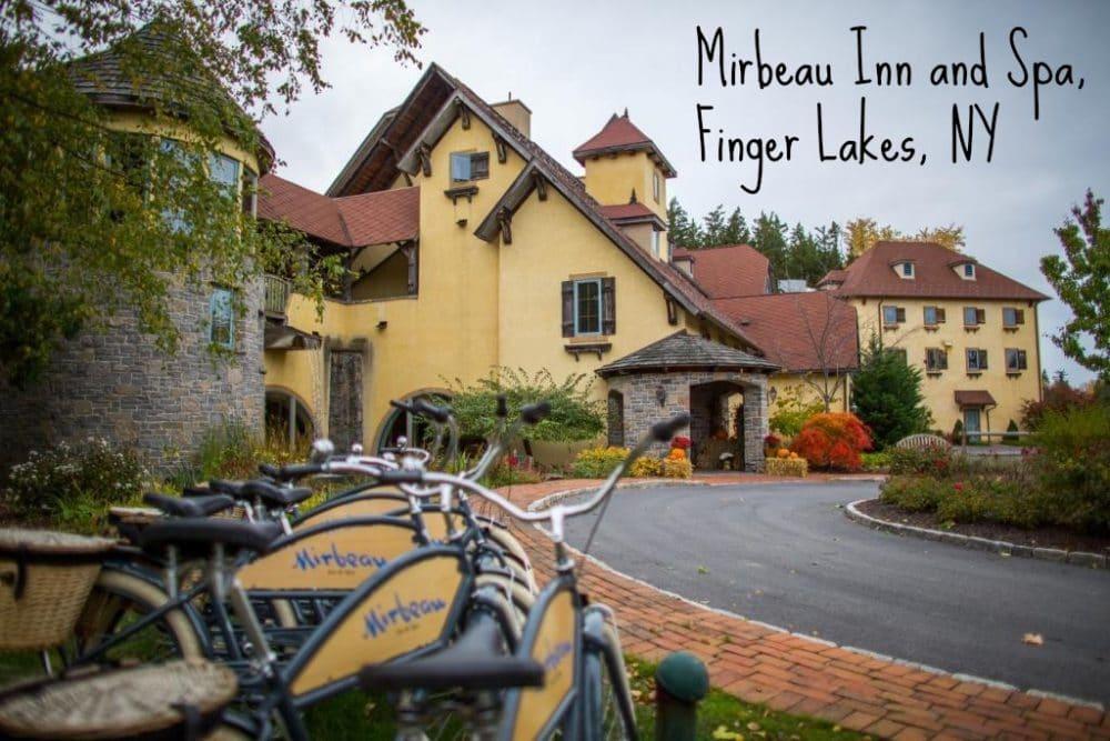 Mirbeau Inn and Spa, Finger Lakes Region, NY