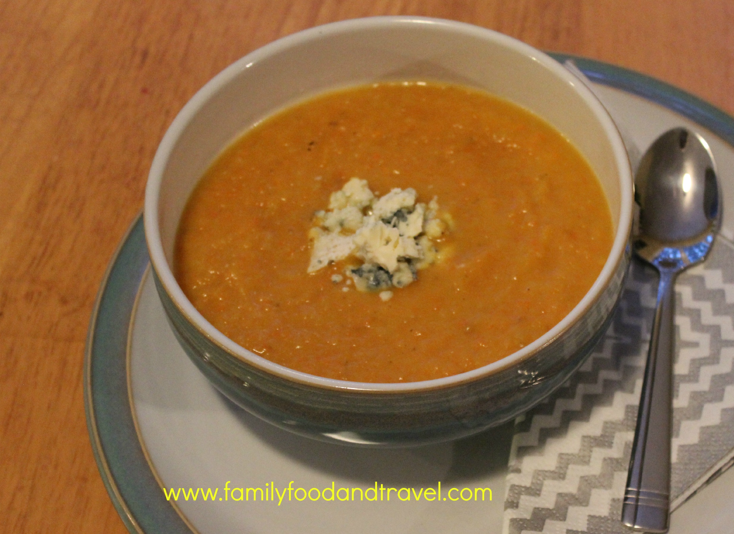 Perfect for a Winter Day: Carrot Soup