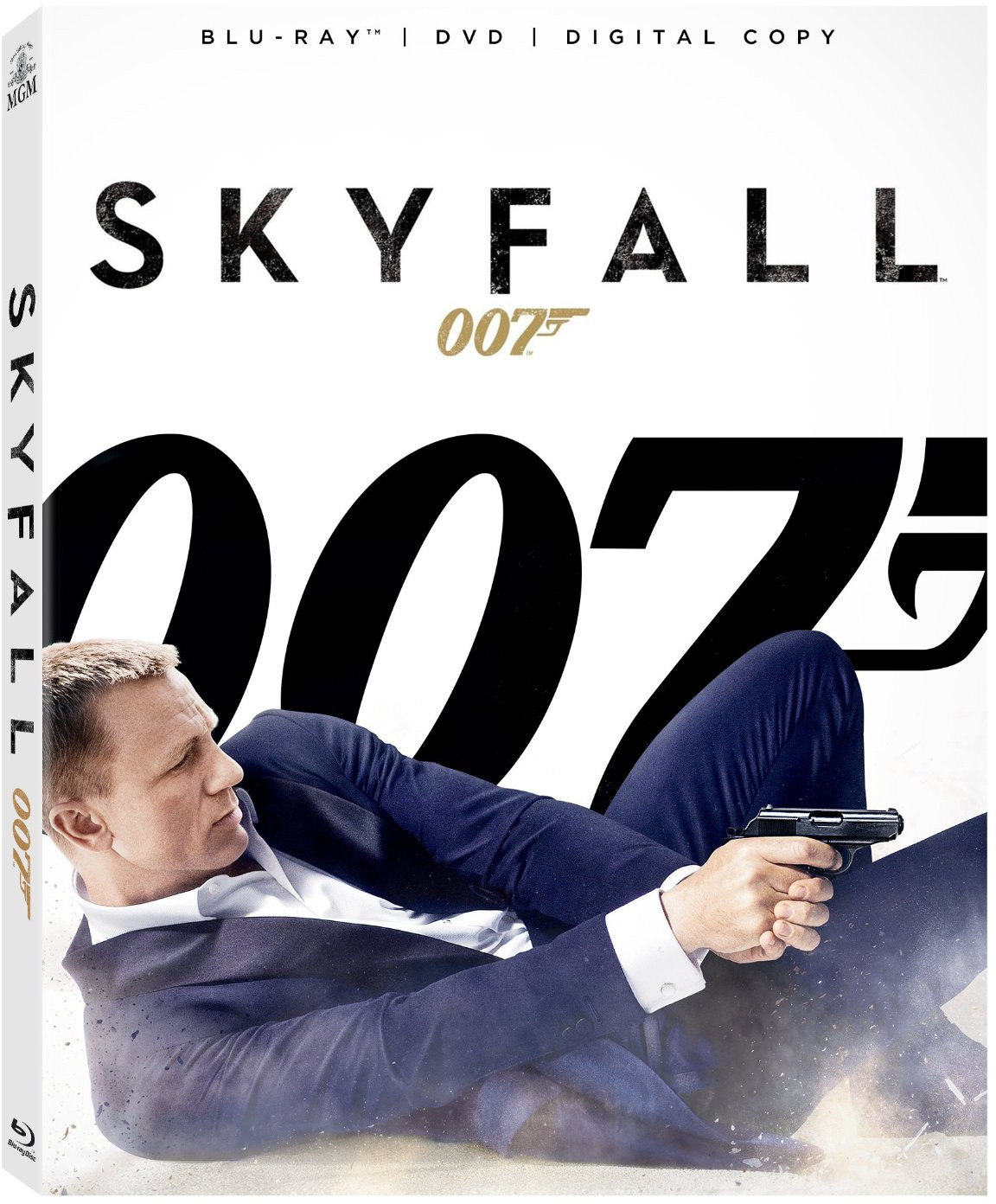 Skyfall on Blu-Ray and DVD