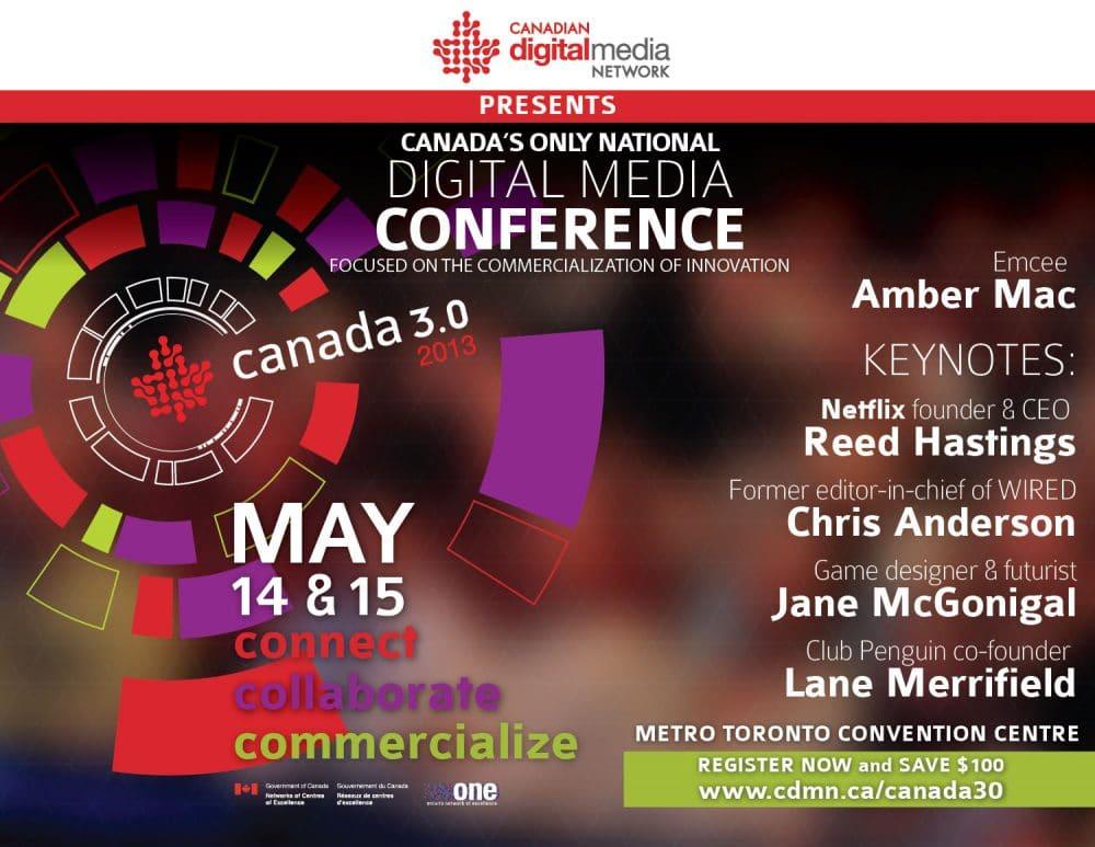 CDMN Canadas Only National Digital Media Conference