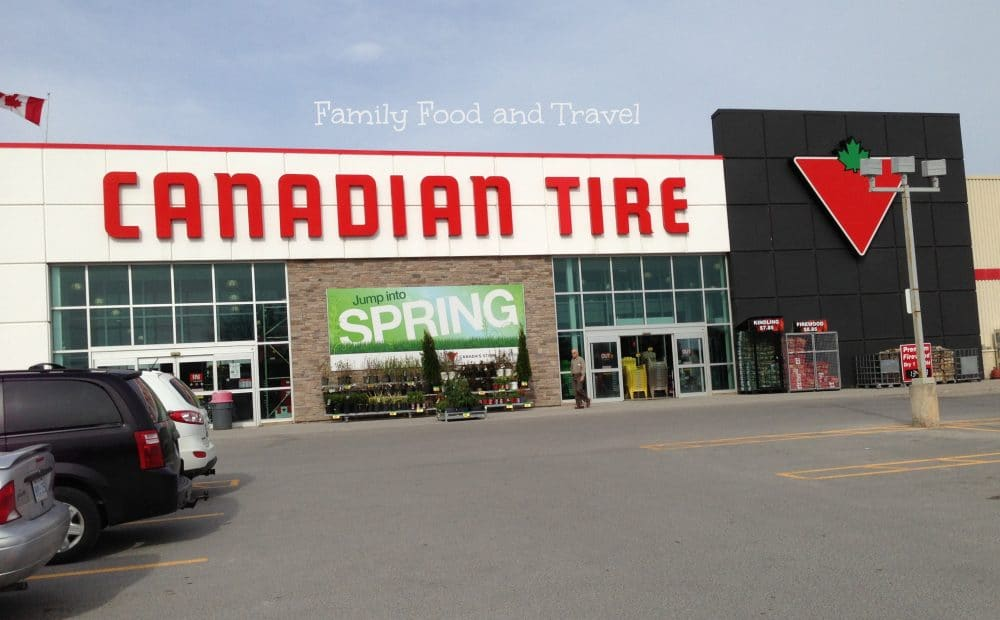Getting Our Camping Gear at Canadian Tire #cbias