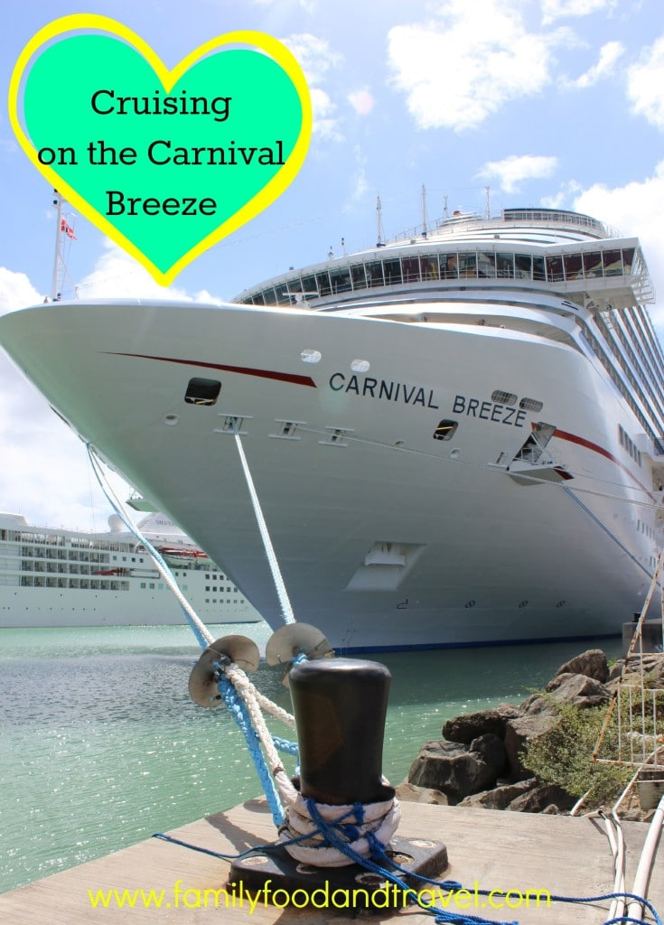 Cruising on the Carnival Breeze