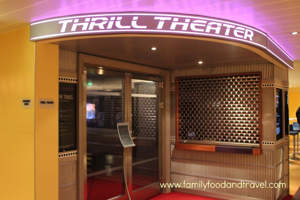 Carnival Breeze Thrill Theatre