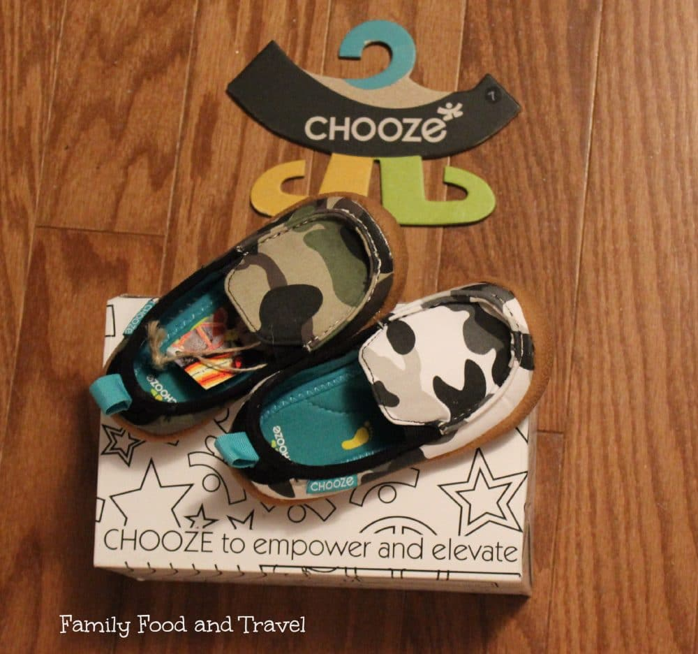 Chooze Shoes:  Stand Out and Make a Difference