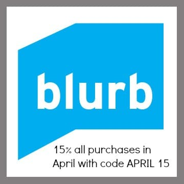 15% off Blurb Purchases in April