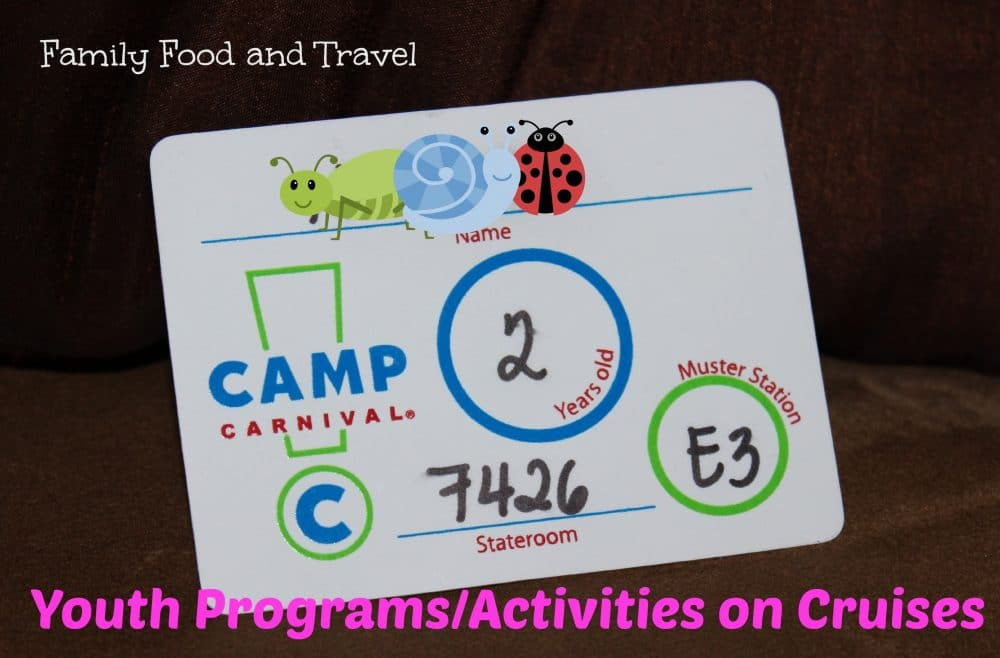 Youth Programs on Cruises Ages 0-20