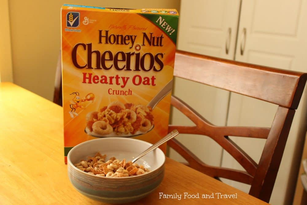 Honey Nut Cheerios Hearty Oat Crunch Giveaway #HNCHeartyOatCrunch