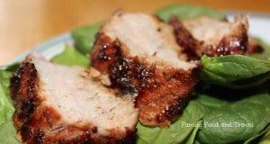 Dijon Balsamic Grilled Pork Tenderloin