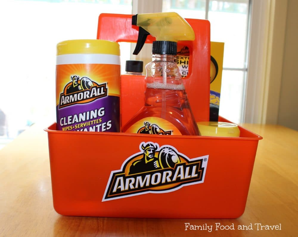 easy diy car care with armor all giveaway family food. Black Bedroom Furniture Sets. Home Design Ideas