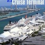 Parking at a Cruise Terminal