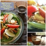 Easy Summer Salad with Honey Balsamic Dressing
