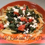 Fresh Kale and Feta Pasta