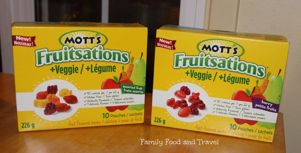 Back to School with Mott's Fruitsations and Veggie Fruit Snacks #MOTTSBTS