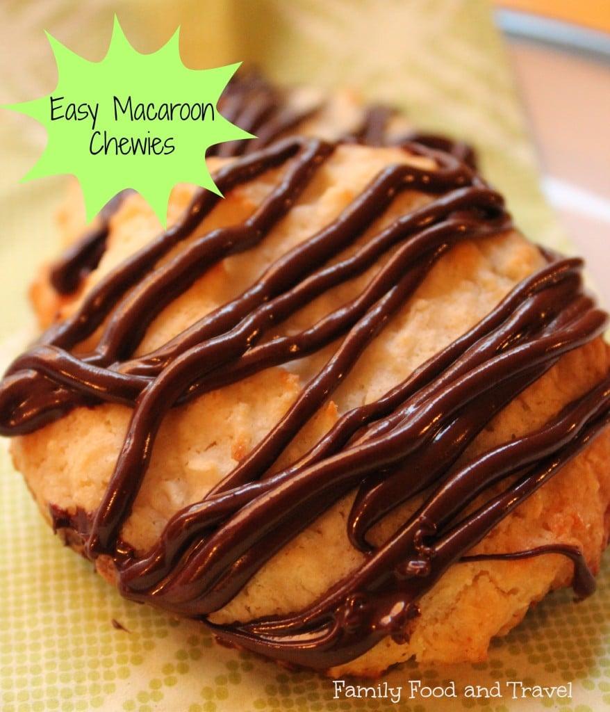 easy macaroon chewies
