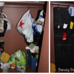 Easy Closet Organization/Makeover