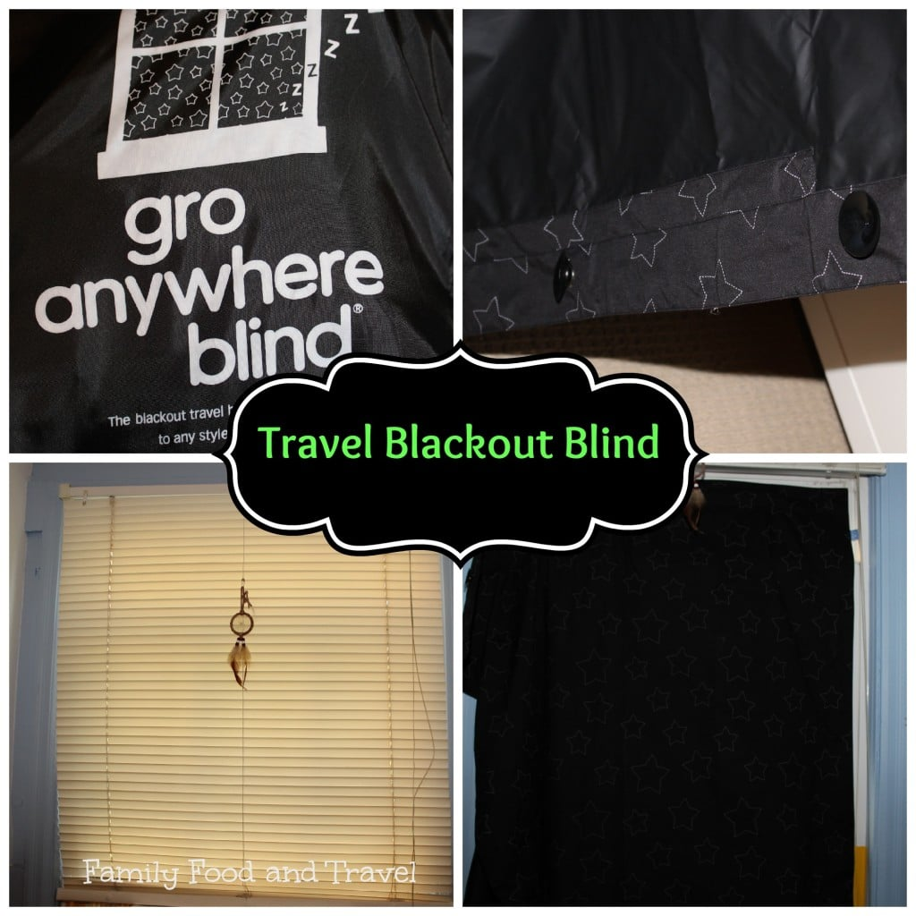 Travel Blackout Blind Gro Anywhere Blind Family Food And Travel
