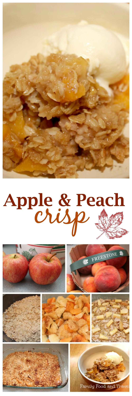 Apple and Peach Crisp Photo
