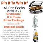 Wonderful Food Wednesday + Hamilton Beach #giveaway