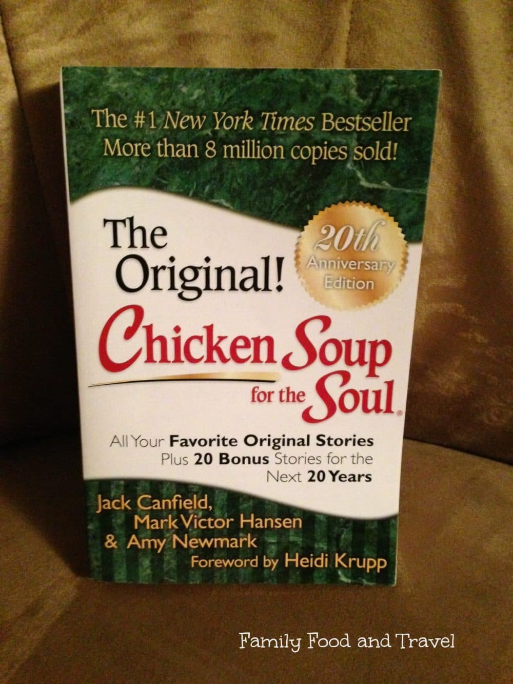 Chicken Soup for the Soul 20th Anniversary Edition #Giveaway