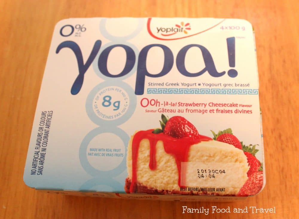 Celebrating Life's Moments with YOPA Yogurt #giveaway