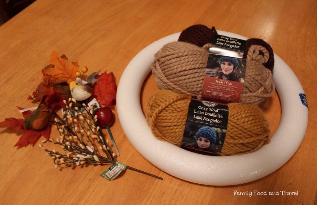 DIY Fall Wreath Supplies