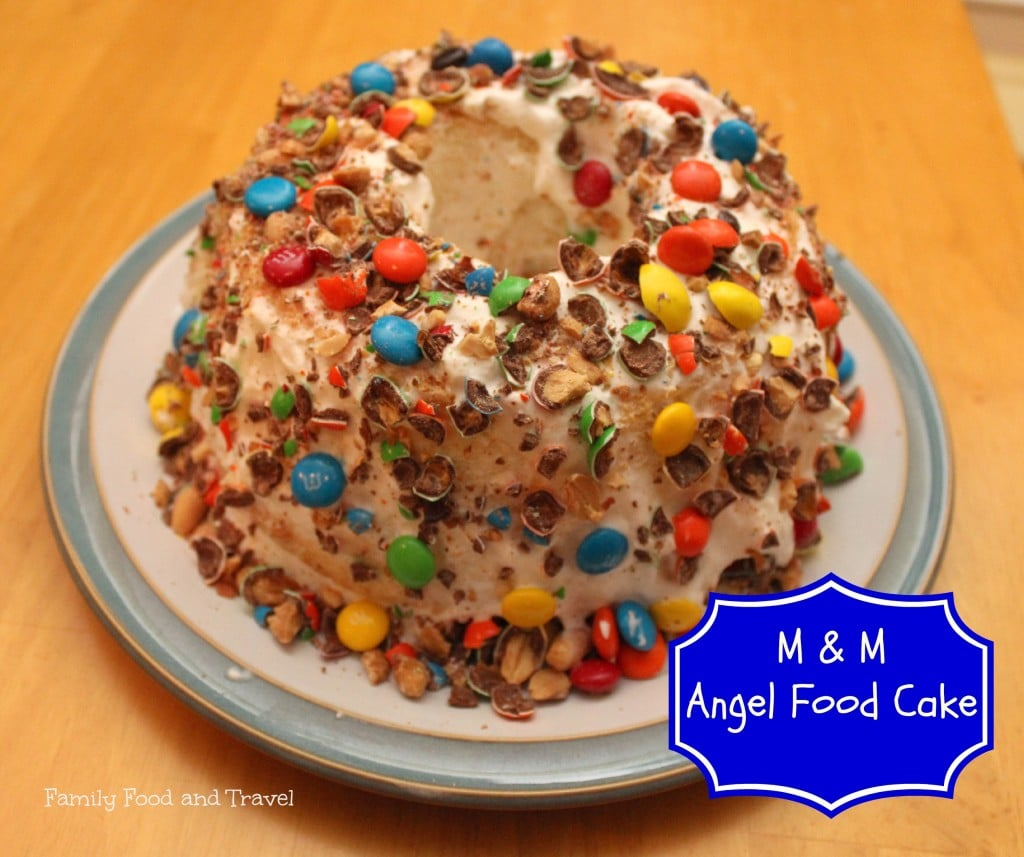 M&M Angel Food Cake #shop