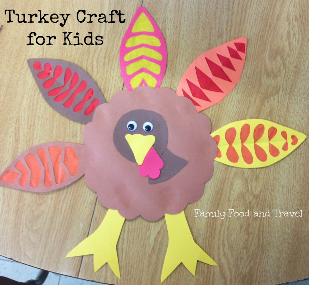 Turkey Craft for Kids: Big and Little