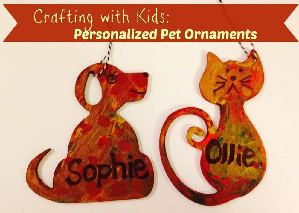 Crafting with Kids: Personalized Pet Ornaments