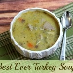 best ever turkey soup