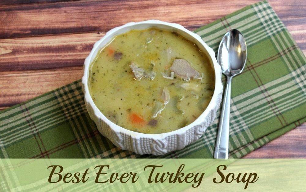best ever turkey soup