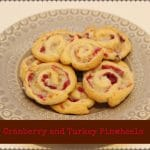 Turkey and Cranberry Pinwheels