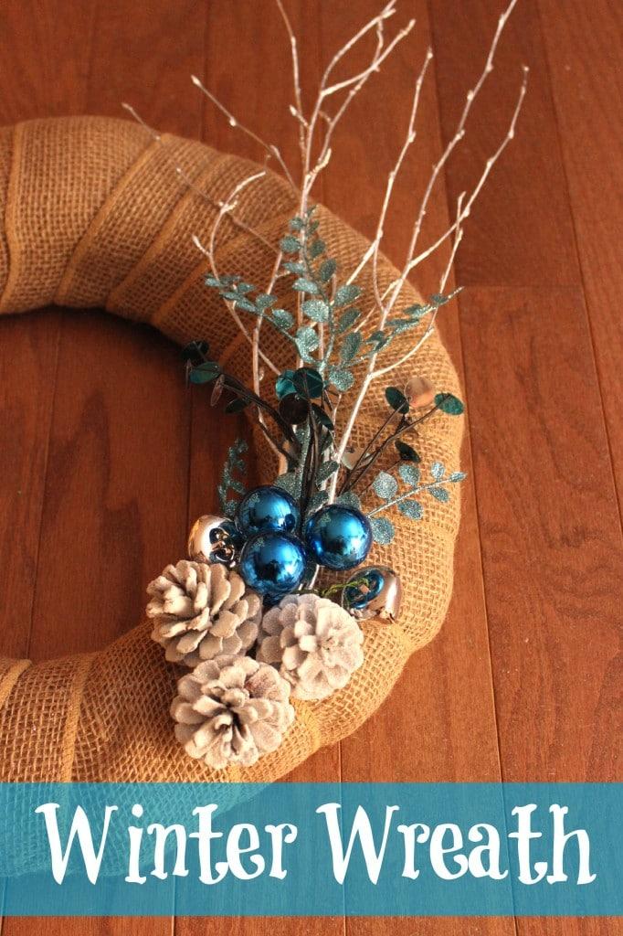 DIY Winter wreath