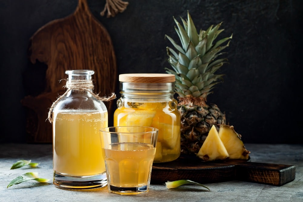 Mexican Tepache Recipe for Fermented Pineapple Drink