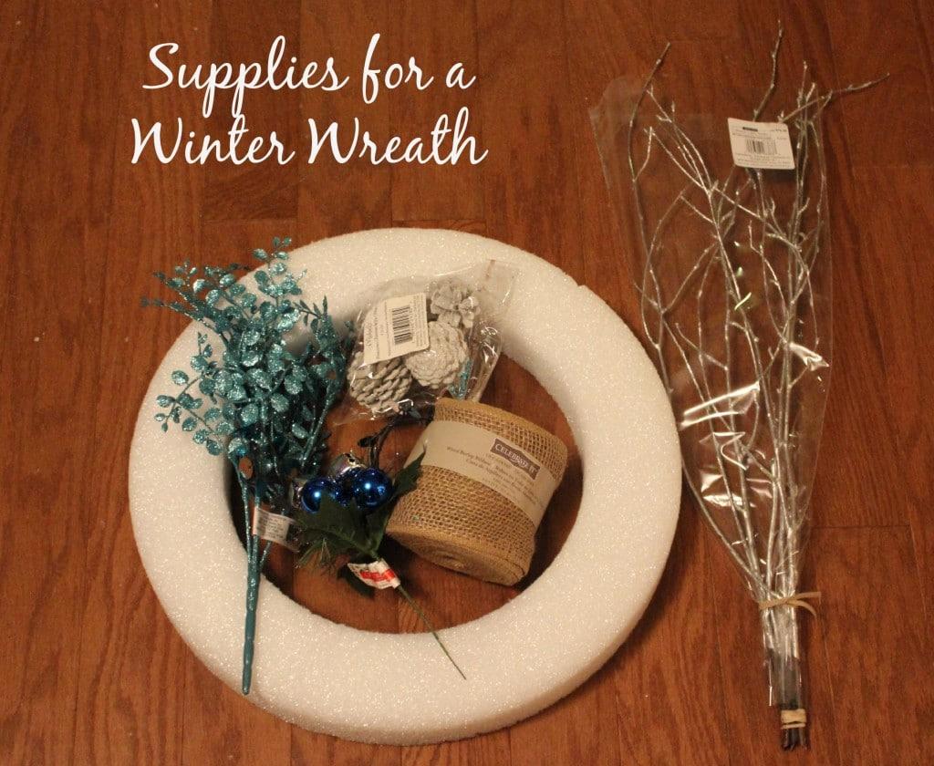easy diy winter wreath