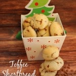 Toffee Shortbread Meltaways