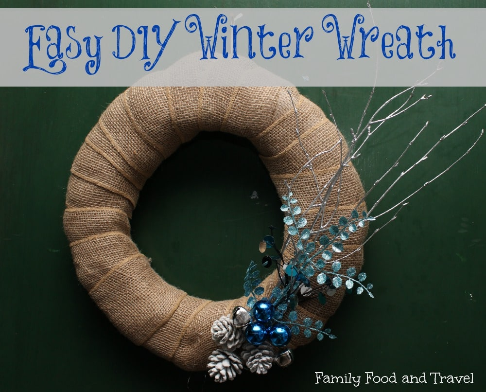 Easy DIY Winter Wreath