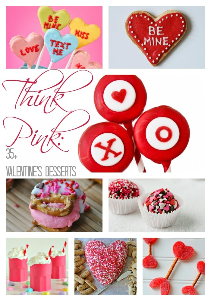 Think Pink: 35+ Valentine's Day Desserts