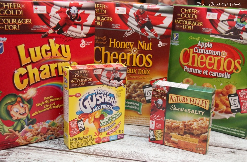 Cheering on Team Canada with General Mills #CheerForGold