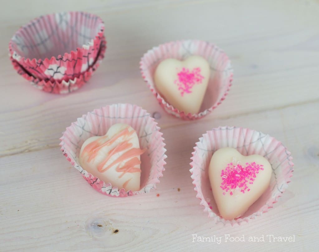 strawberry white chocolate hearts
