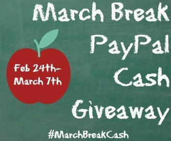 march break paypal cash