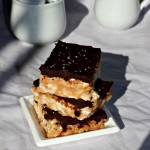 Salted Caramel and Chocolate Rice Krispies Treats Recipe