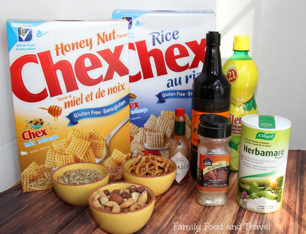 Nuts About The Red Carpet Chex Mix Ingredients
