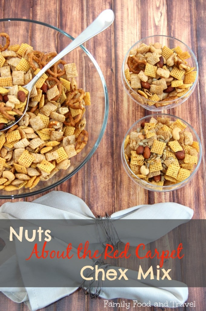 Nuts About the Red Carpet Chex Mix